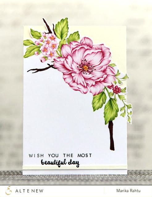 Набор штампов  и ножей  Beautiful Day Stamp & Die Bundle
