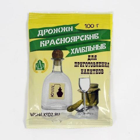 Спиртовые дрожжи Красноярские Хмельные, 100 г на 25 л