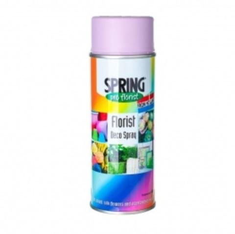 Краска-спрей SPRING (объем:400мл) Цвет: 015, лавандовый
