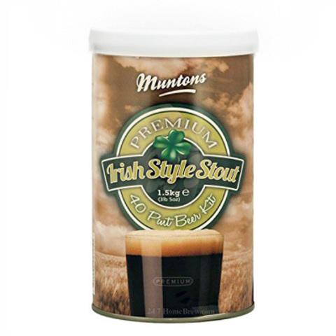 Солодовый экстракт Muntons Premium Irish Stout 1,5 кг