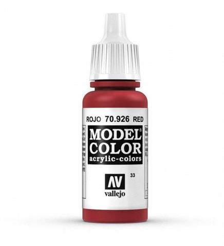Model Color Red 17 ml.