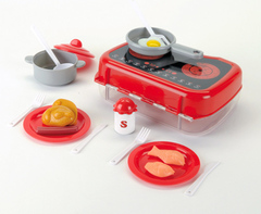 Klein Кухонный набор (продукты, посуда) в кейсе, средний (9600)