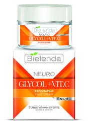 NEURO GLICOL+VIT.C Отшелушивающий крем корректор морщин и пигментных  пятен, ночной 50мл