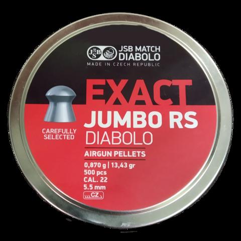 Пульки JSB Jumbo Exact 5.52 мм (0.87 г, 500 шт.)