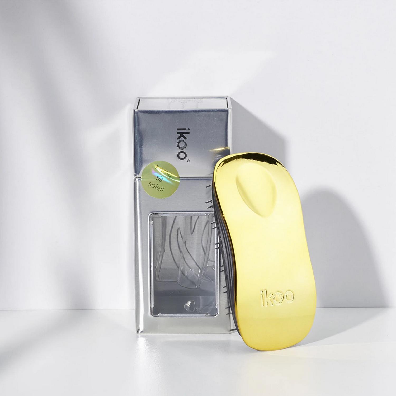 home soleil black   расческа-детанглер для бережного расчесывания  Золотое солнце