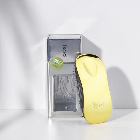 home soleil black | расческа-детанглер для бережного расчесывания  Золотое солнце