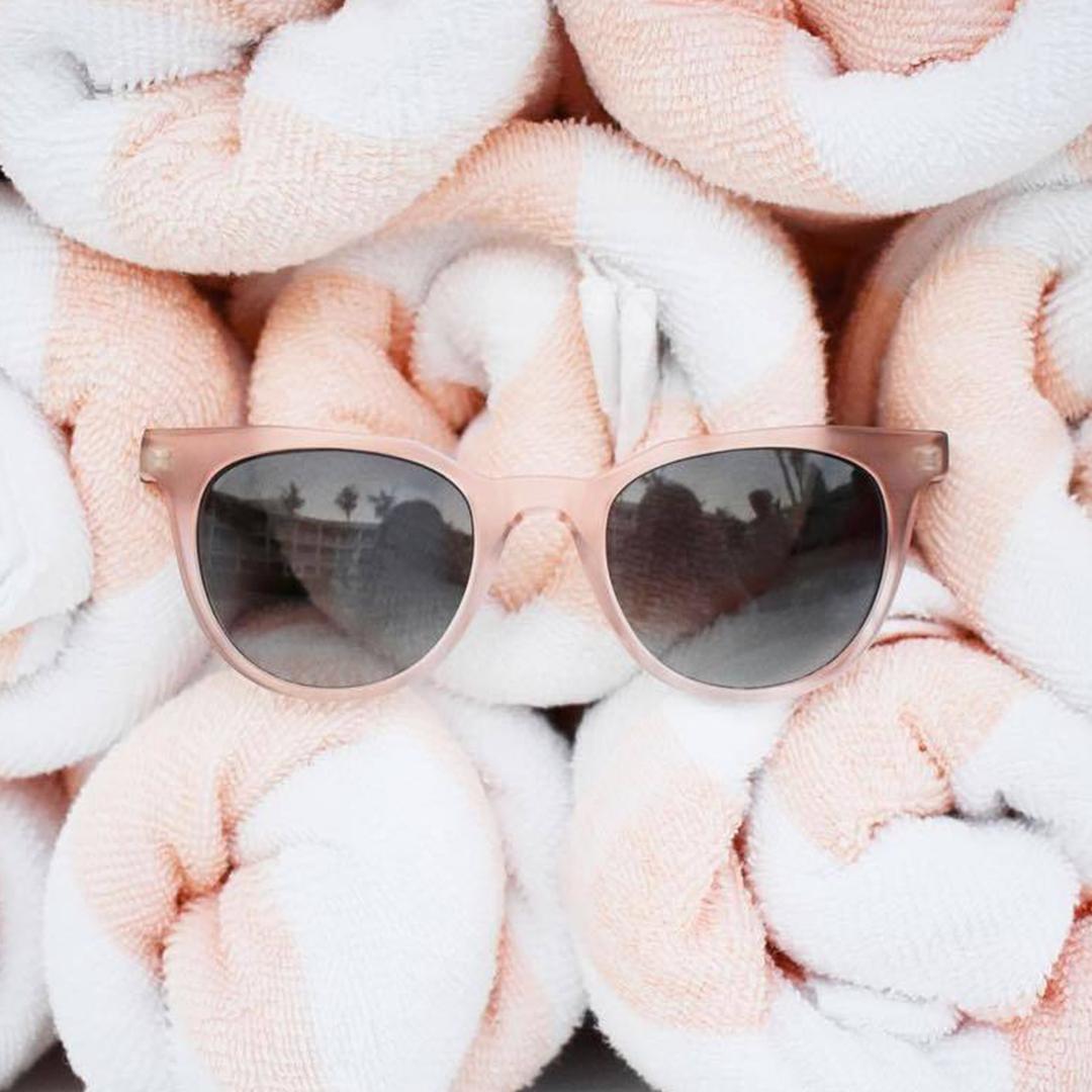 Monc Södermalm Matte Pink Blue Gradient — очки из ацетата