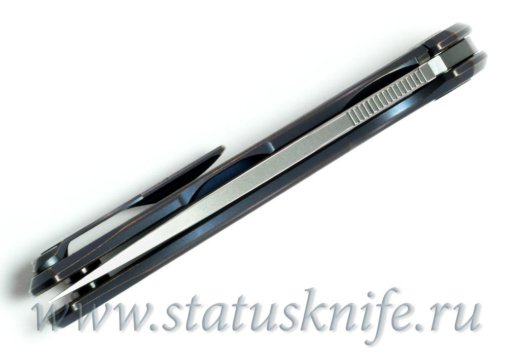 Нож Широгоров Flipper 95 М390 Нудист 4 мм MRBS 2017 - фотография