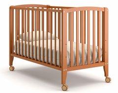 Кровать детская Бьянка на колесиках вишня