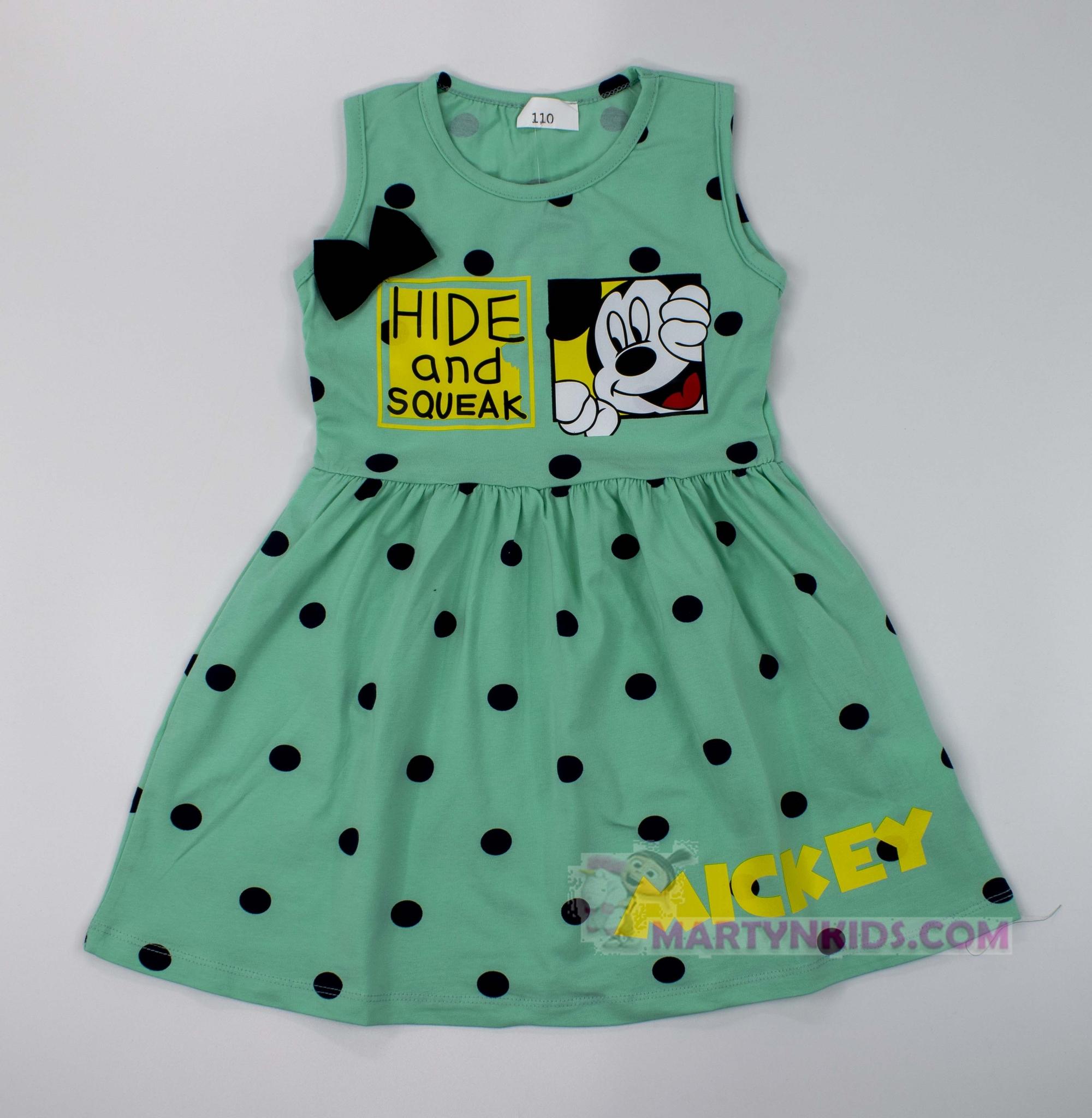 3445  платье Микки прятки