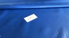 Искусственная кожа синяя 87