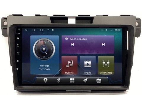 Магнитола для Mazda CX-7 (07-12) Android 10 4/64 IPS DSP 4G модель CB-2214TS10