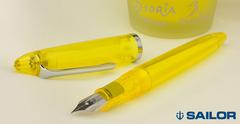 Перьевая ручка Sailor Profit Junior S - Yellow Demonstrator (Limited Edition)