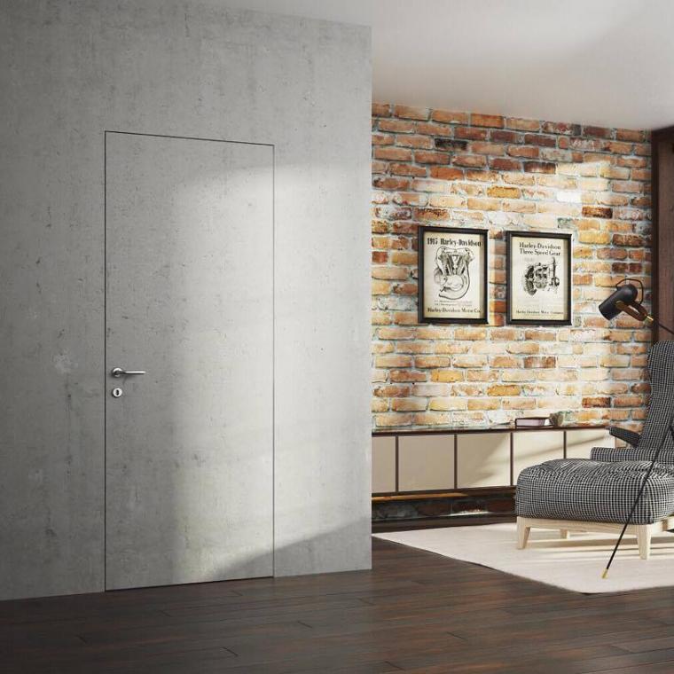 Скрытые двери Межкомнатная скрытая дверь под окраску Profil Doors 0Z Invisible с кромкой под покраску с внешним открыванием 17239825_246850112443010_6361169686670850635_o.jpg
