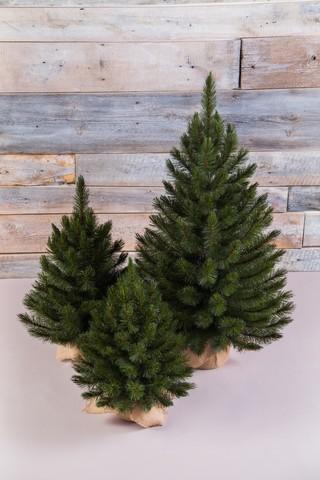 Искусственная елка Лесная Красавица 60 см в мешочке зеленая