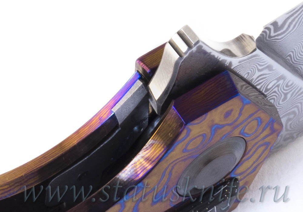 Нож Чебуркова Касатка Whale Custom тимаскус дамаск - фотография