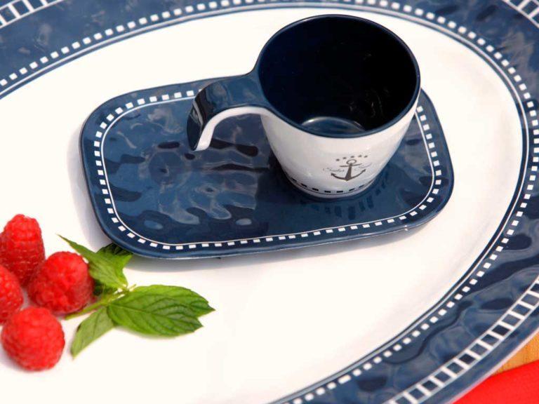 MELAMINE COFFEE SET SAILOR SOUL