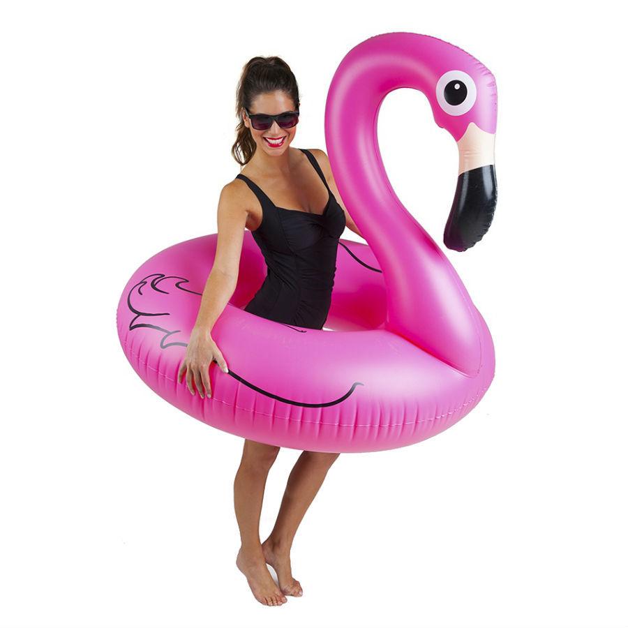 Товары для отдыха и путешествий Надувной круг Розовый фламинго (120 см) naduvnoy-krug-rozovyy-flamingo-120-sm.jpg