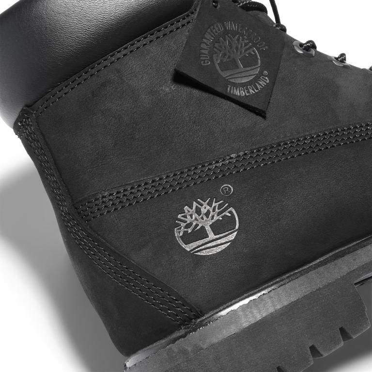Timberland Boots Black ЗИМНИЕ