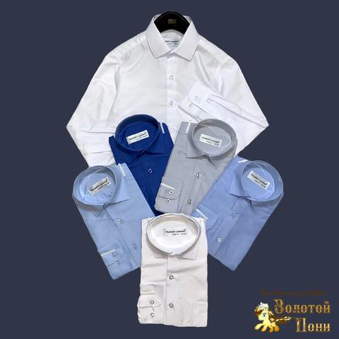 Рубашка школьная мальчику (116-158) 210613-R78022