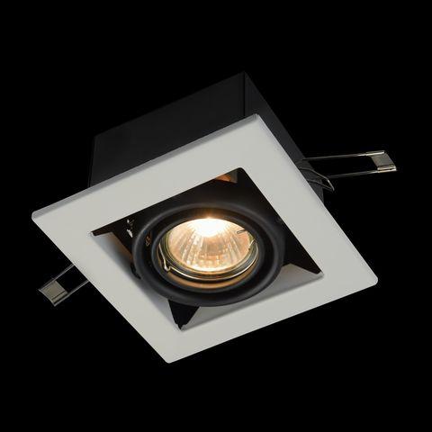 Встраиваемый светильник Maytoni Metal Modern DL008-2-01-W