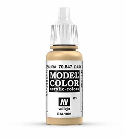 Model Color Dark Sand 17 ml.