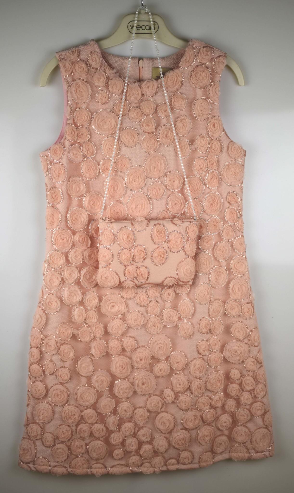 2116 платье Чайные Розы сумочка