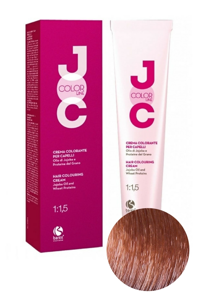 Крем-краска для волос 8.31 светлый блондин бежевый JOC COLOR, Barex