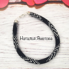 23980 Бисер 10/0 Preciosa Керамика черный
