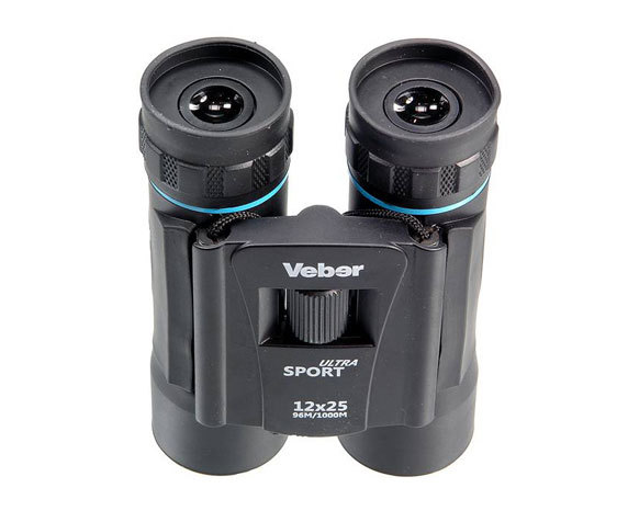 Бинокль Veber Sport Ultra БН 12x25 black - фото 2