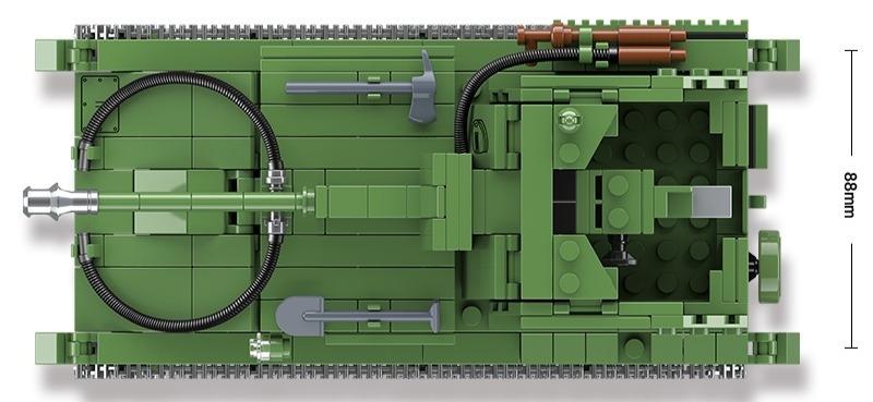 Конструктор Техника Второй Мировой войны Советская самоходная артиллерийская установка СУ-76
