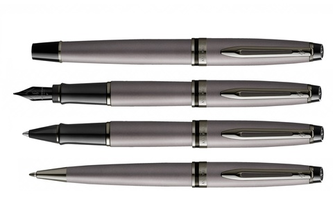 Перьевая ручка Waterman Expert Silver F123
