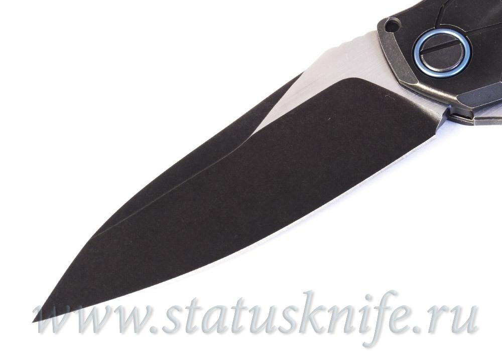 Нож CKF Т15 (А.Коныгин-Рататуй, М398, титан) - фотография