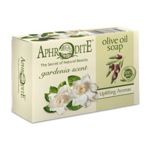 Мыло оливковое с ароматом гардении