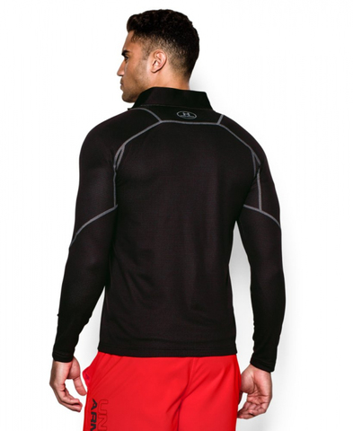 Термофутболка Under Armour Men's ColdGear Infrared Grid 1/2 Zip Mock, черная, новая