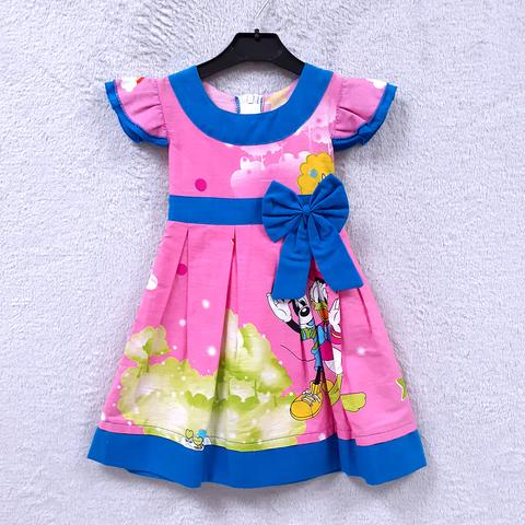 Платье хлопок девочке (2-6) 210302-OF7578