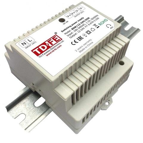 80W/12-24V/DIN блок питания Faraday