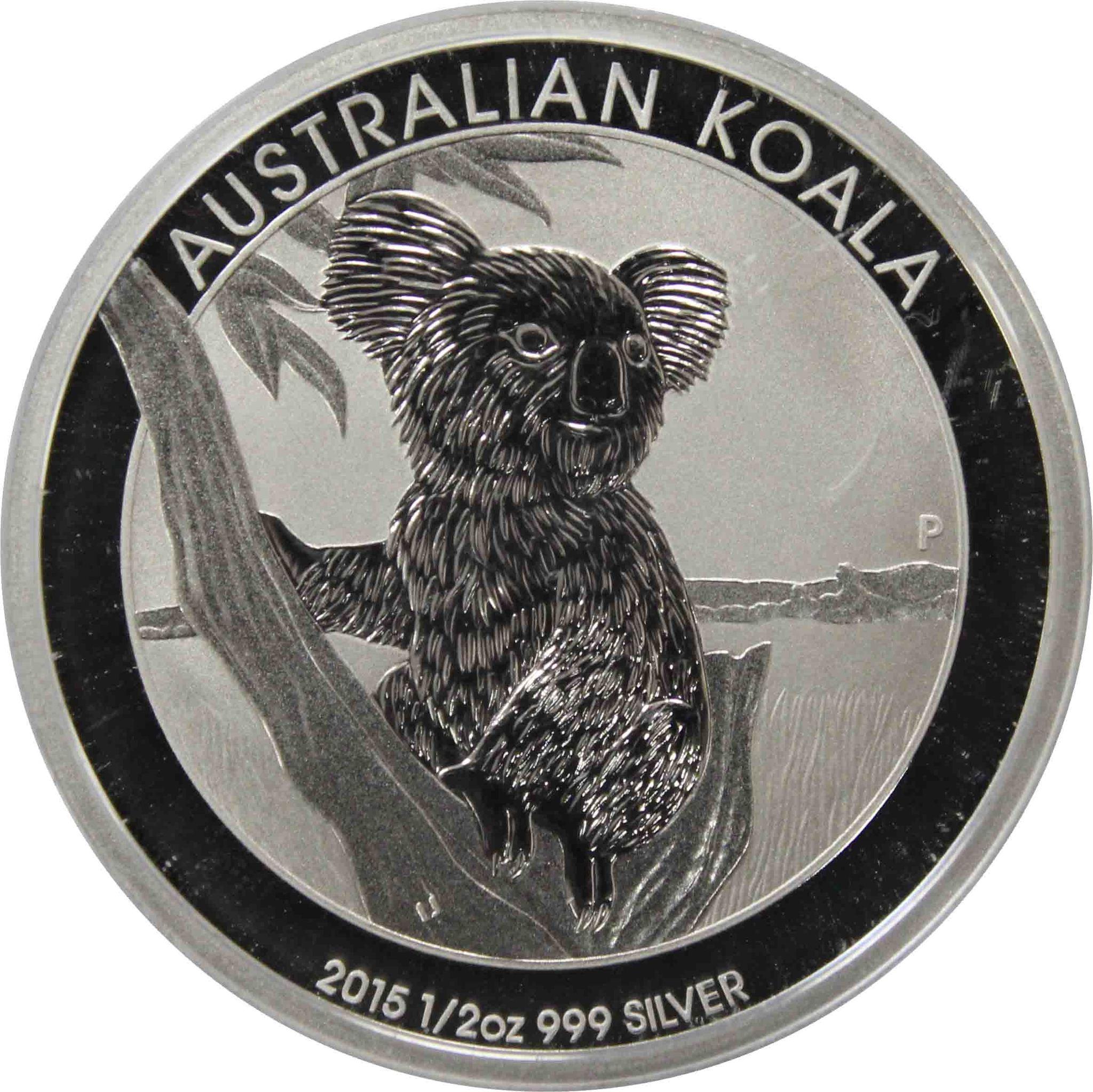 """50 центов """"Коала"""". Австралия. 2015г."""