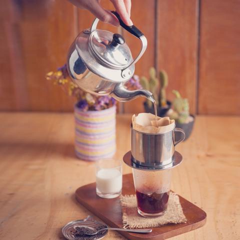 Вьетнамский способ заваривания кофе