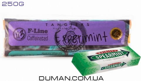 Табак Tangiers Experimint T113 (Танжирс Экспериминт - Мятная Жвачка) |F-Line 250г