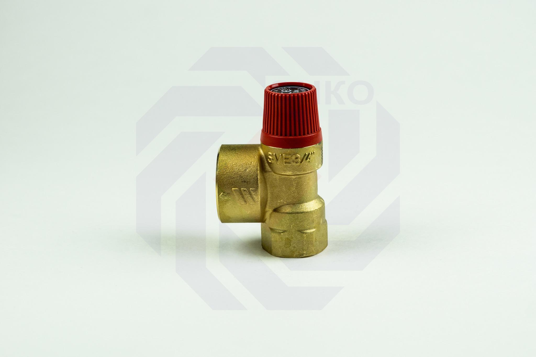 Клапан предохранительный WATTS SVH 3 бар ¾