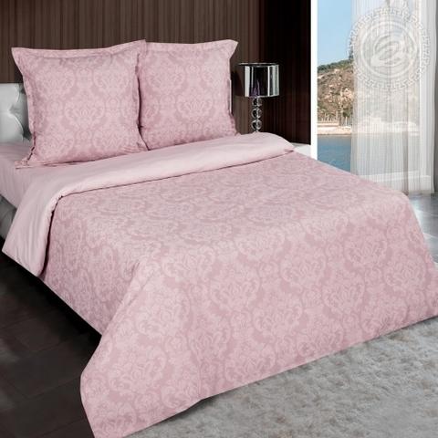 Комплект постельного белья Византия (розовый) DE LUXE РАДУГА