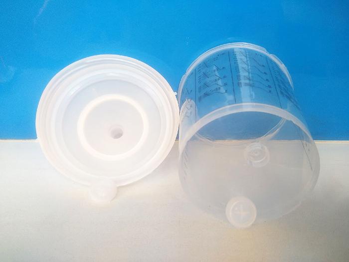 Аналог SATA RPS, стакан 0.6 л и крышка 200 мкр