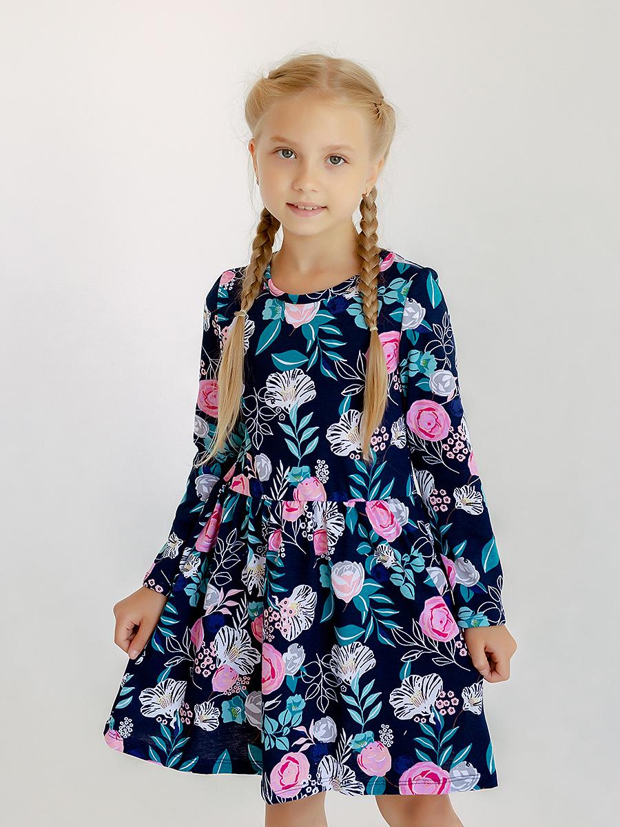 Платье Элла цветущий сад
