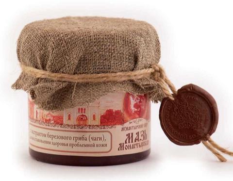 Мазь Монастырская с экстрактом березового гриба (чаги)