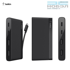 Разветвитель портов Belkin USB-C Belkin 4-Port USB 3.0 Type-C Mini Hub Хаб
