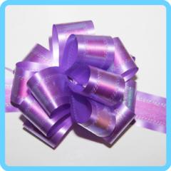Бант подарочный фиолетовый 5 см