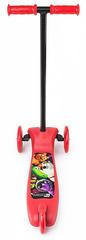 Самокат трёхколёсный простой (красный)