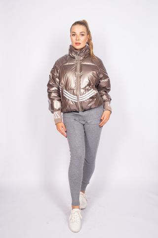 Куртка утепленная с широкими манжетами купить