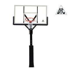"""Стационарная баскетбольная стойка 72"""" DFC ING72G/SBA029G 180x105см закаленное стекло"""